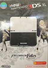 New Nintendo 3DS XL Console - Fire Emblem Fates Ltd Edition - plays USA games