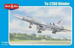 Mikro-mir 144-024 1/144 Tu-22 KD Blinder Soviet supersonic bomber BLACK FRIDAY