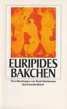 in- EURIPIDES : BAKCHEN    2537 a   Erstausgabe