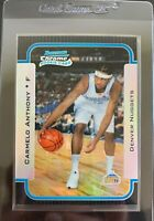 2003-04 Bowman Chrome Carmelo Anthony Refractor Rookie Card 182/300!