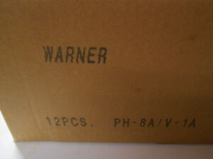 PH8A WARNER 12 OIL FILTERS - LOT OF 12 - OIL FILTERS V-1A PH8A - CASE OF 12