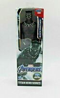 "Avengers Marvel  Titan Hero Series Black Panther 12"" Action Figure New"