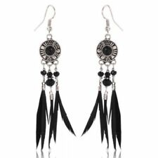 Alloy Beaded Drop/Dangle Costume Earrings