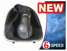 GEAR STICK SHIFT KNOB + GAITER BOOT + FRAME SEAT ALTEA LEON II TOLEDO 6 SPEED