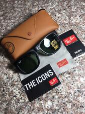 Ray-Ban RB4165 601-8G Grey Gradient Lens Matte Black Frame Unisex Sunglasses