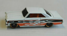 Hot Wheels 1966 Chevy Chevrolet Nova weiß Flammen Multipack Exclusive? HW ´66