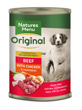 Natures Menu Dog Food Can Beef with Chicken (12 x 400g)