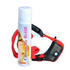 Mist Spray Automatic Barking Stop Dog Training Device Safe Anti Bark Collars Red