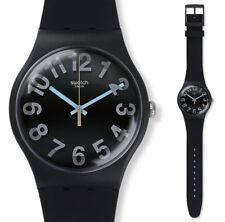 Swatch Numbers Uhr SUOB133 Analog  Silikon Schwarz