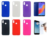 Case Cover Gel TPU Silicone For Huawei Honor 8A / Y6 (2019) + Optional Protector