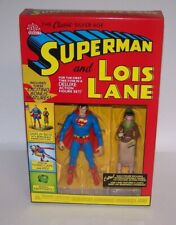 Classic Silver Age Superman and Lois Lane Deluxe Action Figures Set DC Direct
