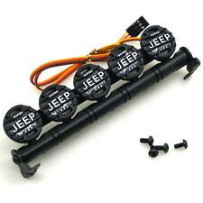 Dachleuchten LED Roof Light Bar 5 Spotlight für 1/10 RC Crawler TRX-4 SCX10 Neu