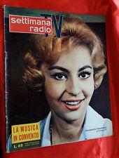 rivista - SETTIMANA RADIO TV 1959  N 27 . Annamaria Gambineri presentatrice