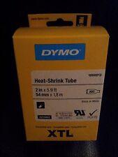 DYMO 1868812 Heat-Shrink Tube, 54mm, Black on White