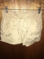 Arizona Khaki Casual Cotton Shorts 12 1/2 Plus