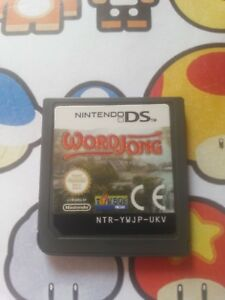 Nintendo  DS GAMEBOY Video game WORD JONG  FREE POST