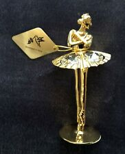 Swarovski Kg&C Inc. Crystal Temptations Ballerina Ballet Dancer Gold Plated