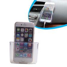 1X Auto Car Bus Truck Multifunction Storage Box Phone Charger Cradle Pocket Bag