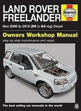 Land Rover Freelander Diesel Service and Repair Manual 2006 - 2014 9780857336361