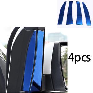 For Ford Escape Kuga 2013-2019 Window Triangle A Pillar Cover Trim Blue Titanium