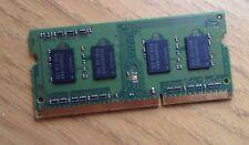4 X 1GB = 4GB PC3-8500S DDR3 Portátil RAM Memoria Sodimm PC8500S JOBLOT PC10600S