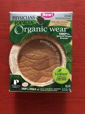 Physicians Formula Organic Wear Natural Glow Bronzer 2240 0.3 oz. Loose Mirror