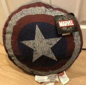 Captain America Marvel Pillow NWT