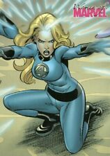 RARE 2008 INVISIBLE WOMAN MARVEL WOMEN OF MARVEL CARD !