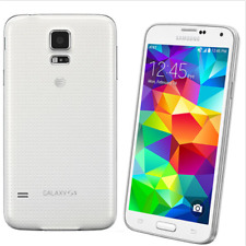 White Samsung Galaxy S5 G900A 4G LTE Unlocked 16GB 16.0MP 2GB RAM Mobile Phone