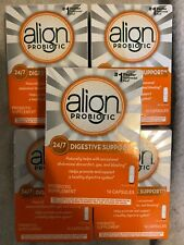 Align Probiotic Supplement 14 Capsules - 5 Packages Exp. 11/2021