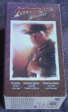 The Indiana Jones Trilogy - Gently Used VHS Video Set - CLASSIC INDIANA JONES