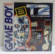 T2 TERMINATOR THE ARCADE GAME - NINTENDO GAME BOY GB PAL REGION FREE BOXED