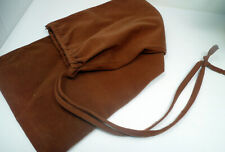 "Brown Corduroy Long Storage Bag - Lawn Chairs, Yard Toys, 10"" by 30"" Pull tie"