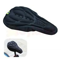 3D GEL BICYCLE CYCLING COMFORT SADDLE SEAT PAD CUSHION COVER FIXIE MTB ROAD BIKE