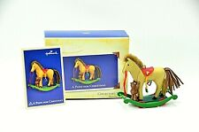 "Hallmark Keepsake Ornaments Collector's Series ""A Pony For Christmas"" #7 New"