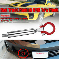 Track Racing CNC Aluminum Tow Hook For 2015-2019 6th Gen Chevy Sports NEW!