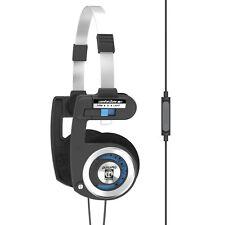 Koss Porta Pro-Auriculares estéreo con micrófono y control remoto (Jack 3.5 Mm)