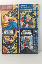 JUSTICE LEAGUE and UNLIMITED dvds Season 1 & 2 Dc classic comics collection