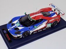 1/18 Ford GT LMGTE Pro car #66 Chip Ganassi 4th Place 2106 LeMans Leather base