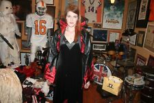 Vintage Sexy Devil Flame Dress and Jacket Medium Savoir Faire