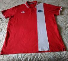 London Broncos Da Uomo Rugby Camicia realizzati da KAPPA Rosso XXX Grandi Dimensioni