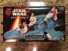 Star Wars EP1 Flash Speeder mib New In Box. Episode I 1 One Toy Figure Nib