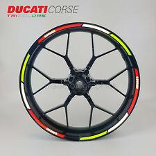 Ducati Corse reflective wheel decals rim stickers stripe 899 949 1199 1200 1299