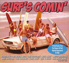 SURF'S COMIN' - PIONEERS OF SURF (NEW SEALED 3CD)
