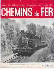 Chemins de fer n°154 - Janvier-Février 1949, revue AFAC
