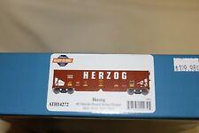 Athearn HO 40' Ribbed Ballast Hopper 4-pack Herzog HZGX Item #14272