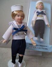 Doll House DOLL-Hand Made Sailor Boy - 1:12th- NEW!