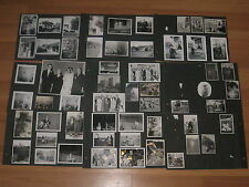 Old VTG Original Black White 1940 - 50 Portrait Vacation Scenery Image Photo Lot