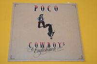POCO LP COWBOYS ENGLISHMEN ORIG ITALY 1982 SIGILLATO SEALED !