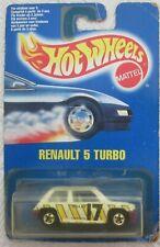 Hot Wheels Blue Card Renault 5 Turbo Vhtf
